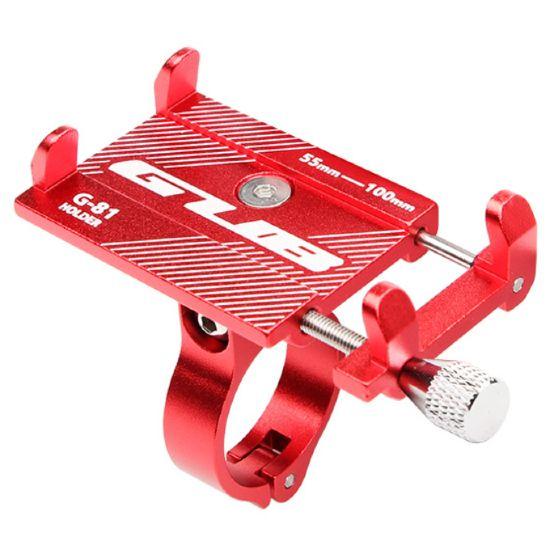 fixation telephone moto rouge
