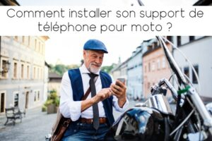 Comment installer un support téléphone pour moto ?