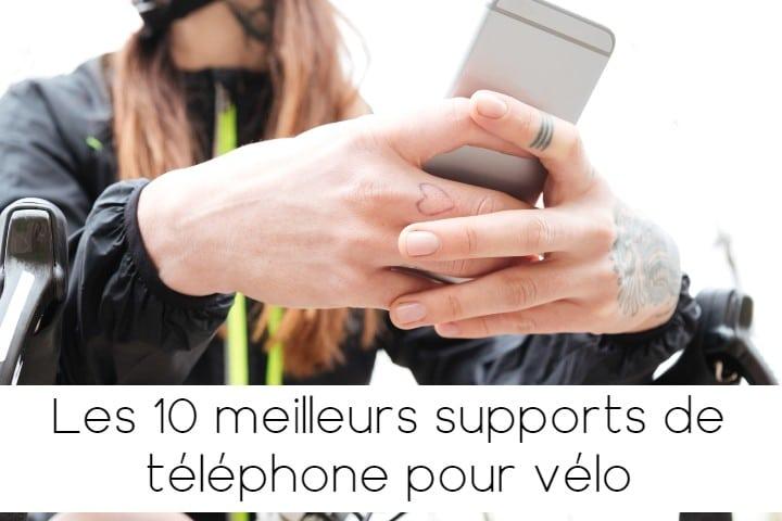 Les meilleurs supports de téléphone vélo