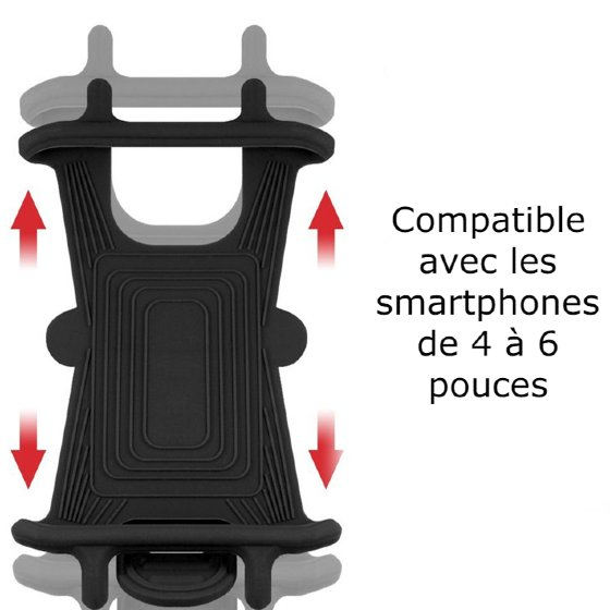 support smartphone moto norauto
