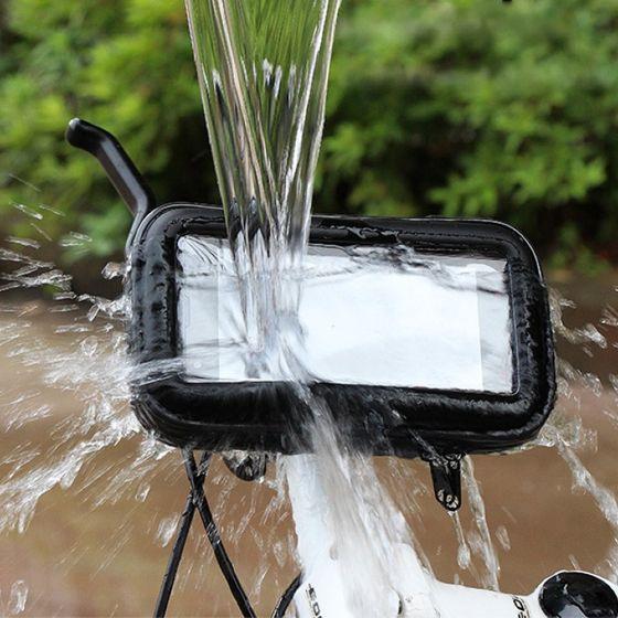 support telephone etanche moto