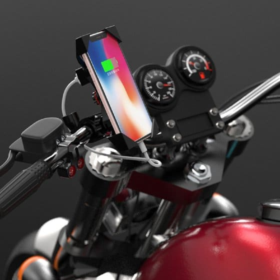 support telephone moto sportive