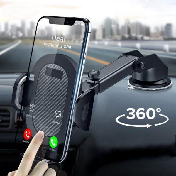 support de téléphone pour voiture à ventouse