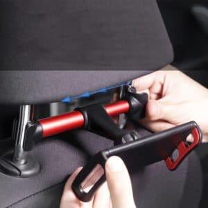 fixation du support de téléphone voiture pour passager