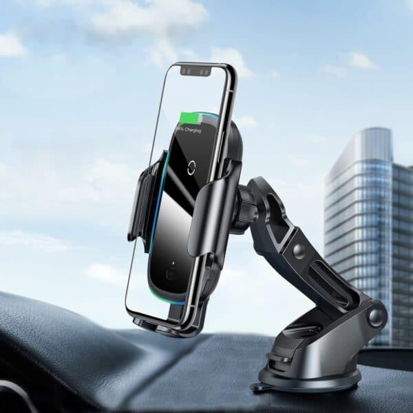 Support chargeur téléphone voiture