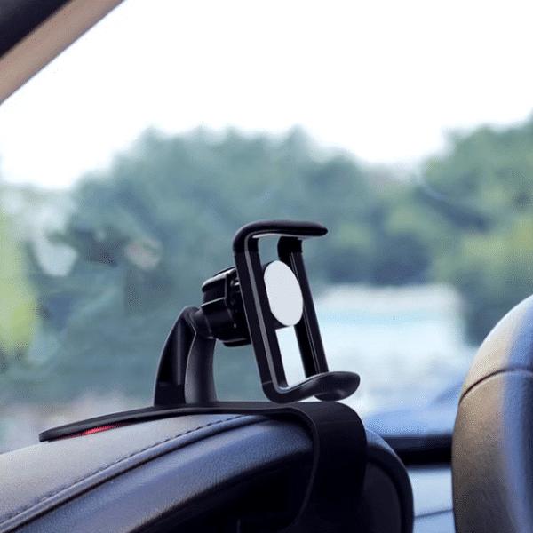 Support tableau de bord au volant téléphone