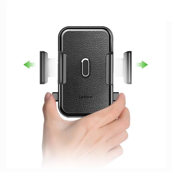 support de téléphone pour voiture ajustable auto-lock