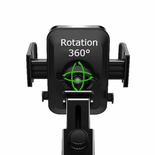 support de téléphone pour voiture ajustable 360°